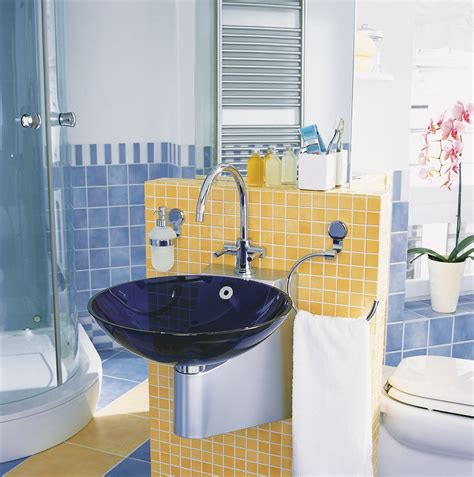 blue and yellow bathroom ideas blue and yellow bathroom decorating ideas bathroom design ideas