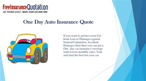 Cheap Car Insurance 1 Day by Get Cheap One Day Car Insurance From Different