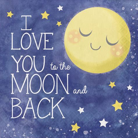 i love you to the moon and back tattoo i you to the moon and back paper napkins twinkle