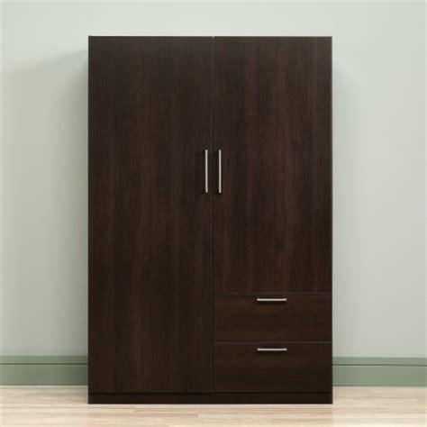 sauder beginnings wardrobe and storage cabinet sauder beginnings wardrobe storage cabinet cinnamon