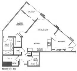 Triangular House Floor Plans by Upper Market San Francisco Curbed Sf