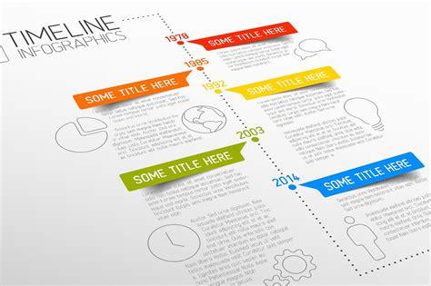 timeline website template vector timeline template presentation templates