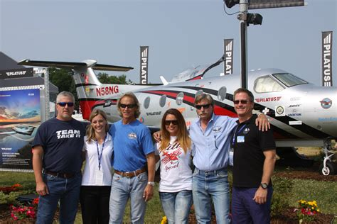 heather sterzic up close and personal with the cast of airplane repo