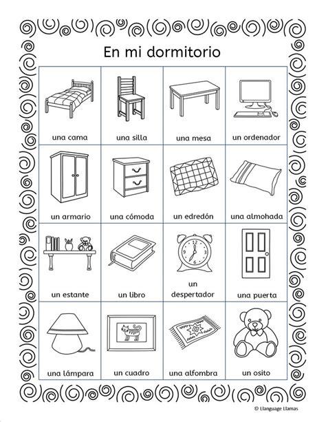 bedroom in spanish language my bedroom in spanish nrtradiant com