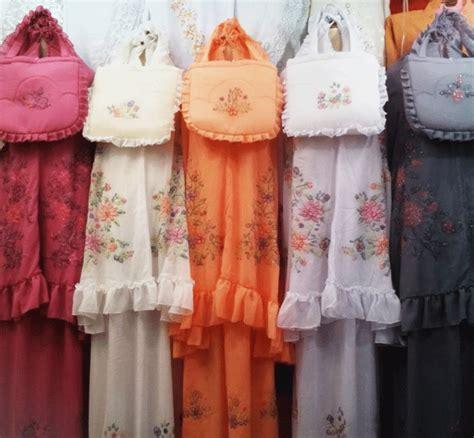Terlaris Mukena Sulam Bayang Padang butik padang
