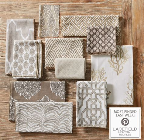 inspired design textile tuesday lacefield neutral textiles