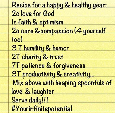 happy new year recipe recipe for a happy and healthy new year food