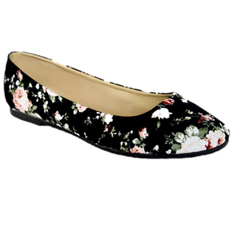 floral flat shoes new floral fabric ballet flats loafers
