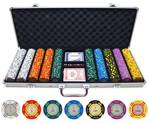 Set Cardi Pokego 500 crown casino 13 5g clay chips p 490