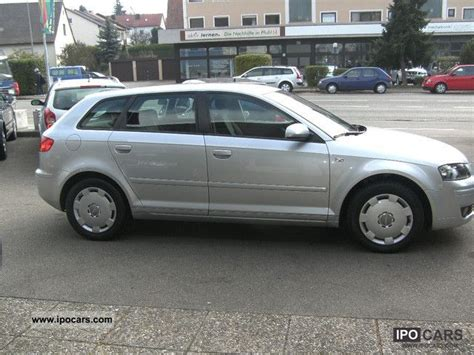 Audi A3 E10 by 2004 Audi A3 2 0 Fsi Sportback Tiptronic Car Photo And Specs