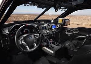 Ford Raptor Interior 2017 Ford F 150 Raptor To Race Best In The Desert