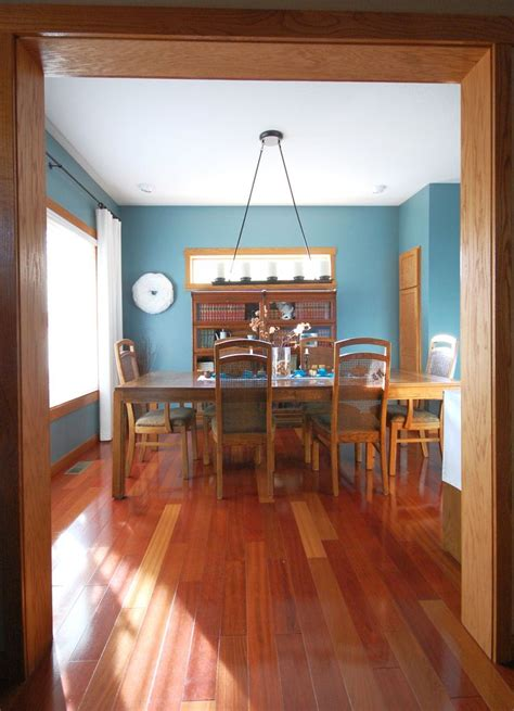 sherwin williams moody blue my dining room with oak trim paint color sherwin