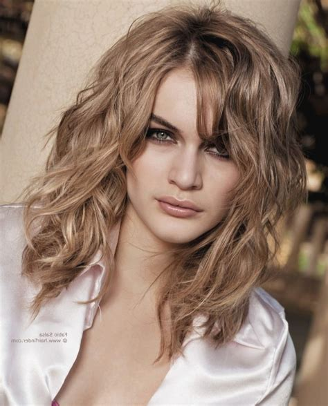hairstyles when semi long curly hairstyles fade haircut