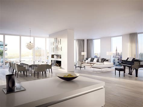 designboom apartment richard meier designs luxury condos and hq in hamburg