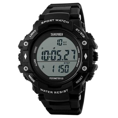 Jam Tangan Led Skmei Digital jual jam tangan pria digital skmei sport led original dg1128s