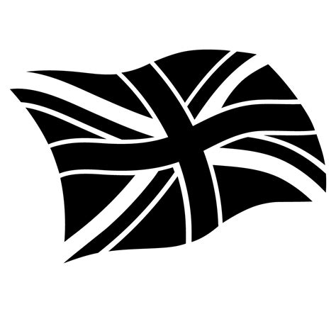 union jack united kingdom flag stencil for glitter tattoos