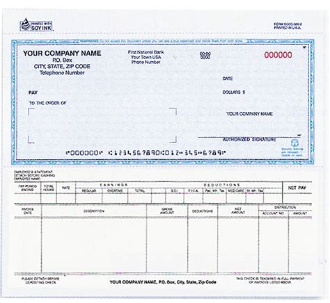 Corporate Background Check 130 Snap A Part Payroll Disbursement Voucher Check