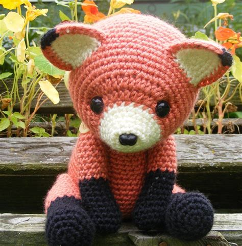 amigurumi fox cinnabar the fox amigurumi by crowchet no pattern stuff