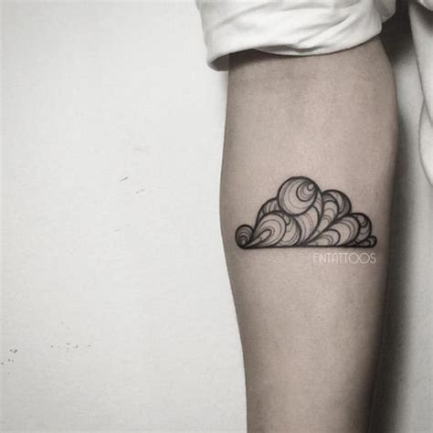 135 most original cloud tattoos collection of 25 cloud