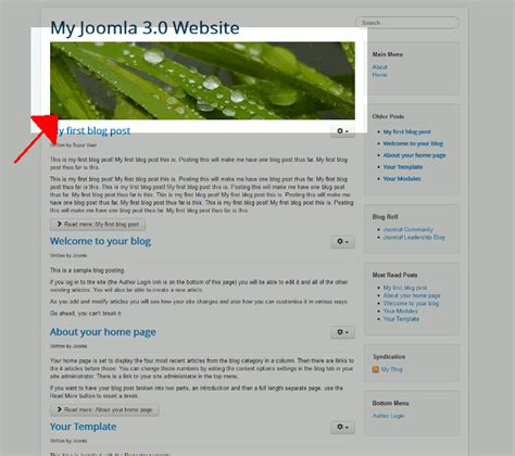 protostar template layout image gallery joomla protostar template layout