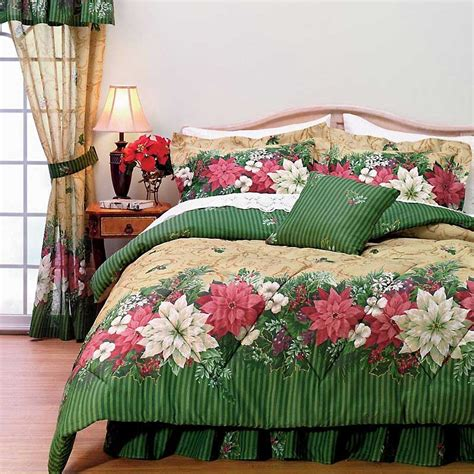 holiday bedding sets 2 ways you can use christmas bed comforters to become