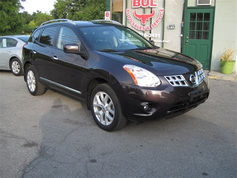 nissan rogue packages 2013 nissan rogue sv w sl package loaded leather xenons