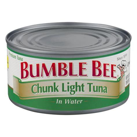bumble bee chunk light tuna bumble bee chunk light tuna in water 12oz can garden grocer