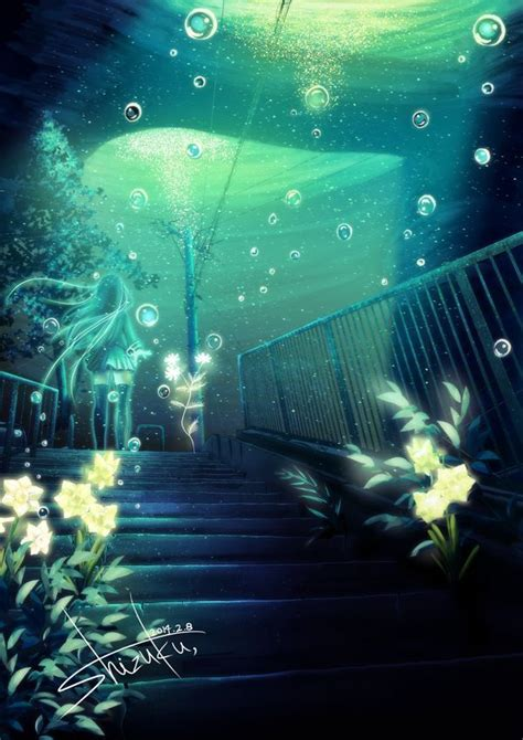 anime underwater 12 best images about anime underwater on