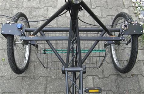 Motorrad Trike Bauen by Dreirad Fahrr 228 Der Wetzel