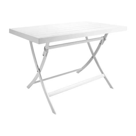 table blanche jardin blanche table de jardin habitat