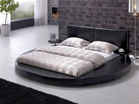 round leather bed 13 unique round bed design ideas