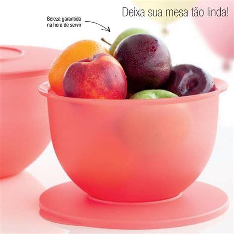 Tupperware Guava tupperware tigela murano 2 5 litros coral guava comprar