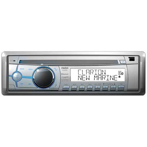 boat stereo west marine clarion marine audio m303 stereo receiver with built in