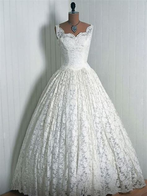 Vintage 1950s Wedding Dresses by Beautiful 1950 S Wedding Dress My Style