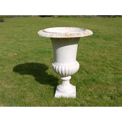 white urn planters outdoor white planter urn swanky interiors