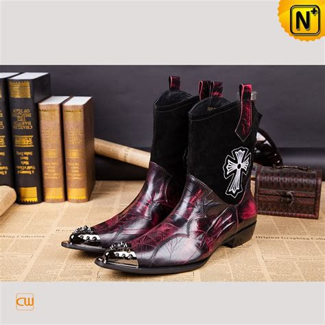pointed toe mens boots mens western pointed toe dress boots cw750126
