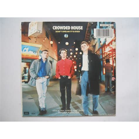 Crowded House Don T It S by Don T It S By Crowded House Sp With Platine