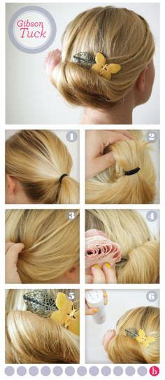 diy edwardian hairstyles gibson tuck on pinterest gibson girl hair waitress