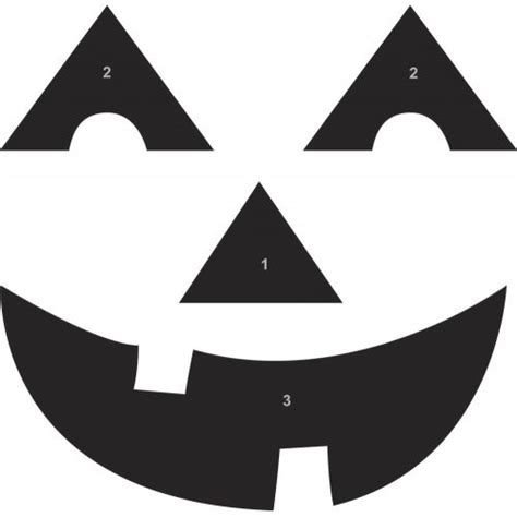 25 best ideas about pumpkin face templates on pinterest