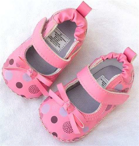 pink toddler baby shoes size 1 2 3 ebay