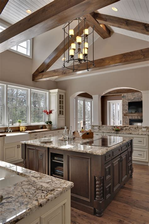 Houzz Ceilings by I The Beams And Ceiling Treatment Is The Ceiling Painted Wood Or Beadboard