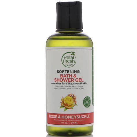 shower gel bath petal fresh softening bath shower gel honeysuckle 3 fl oz 90 ml iherb