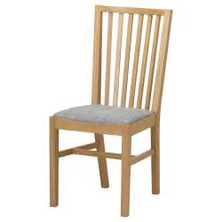 Ikea Wood Chairs Norrn 196 S Chair Oak Isunda Grey Ikea