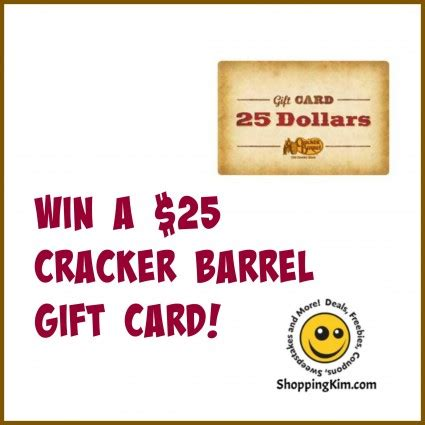 Cracker Barrell Gift Card - spring delights giveaway hop win a cracker barrel gift card shopping kim