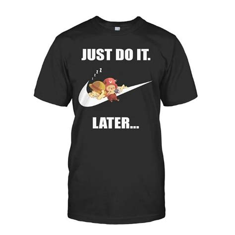 Tshirt Just Do It One Tshirt one just do it later sleeve t shirt