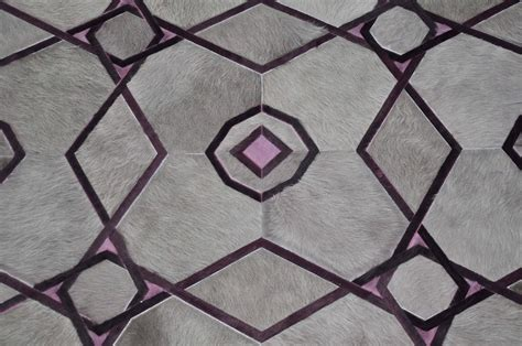 Kyle Bunting Rug by Purple Ruby And Grey Kyle Bunting Hide On Hair Rug For Sale At 1stdibs