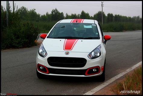 Change Car Upholstery Fiat Abarth Punto Test Drive Amp Review Team Bhp