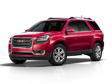 2016 gmc acadia price photos reviews features