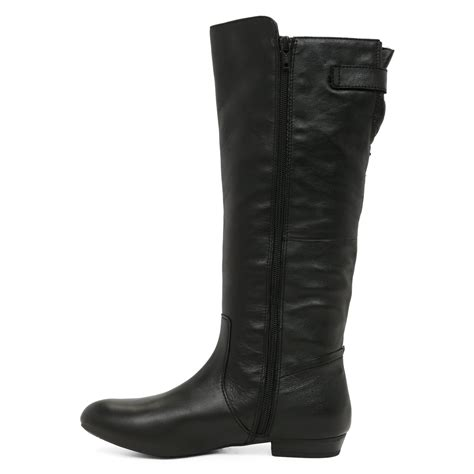 aldo becki knee high boots in black lyst
