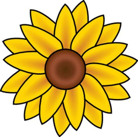 sunflower clip art  clkercom vector clip art